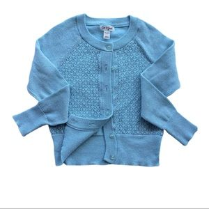 Cat & Jack Light Blue Cardigan. Size 4/5
